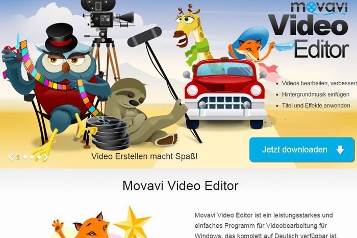 Movavi Videobearbeitung